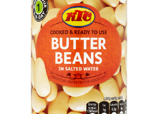 KTC Butter Beans in Salted Water 400 G