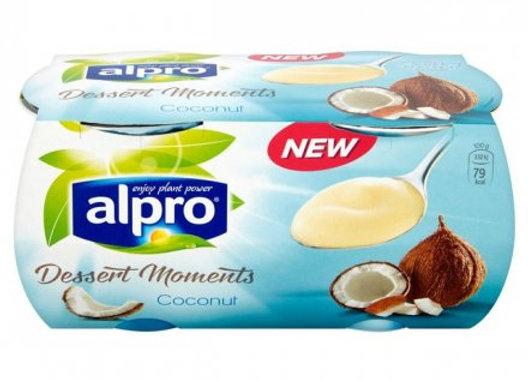 Alpro Coconut Dessert 4's 125g