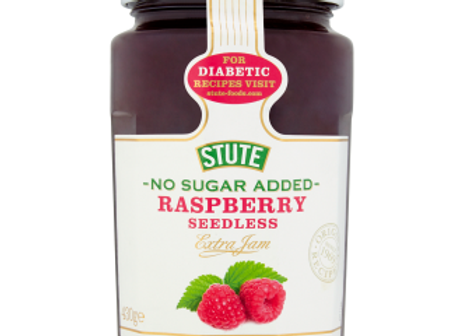 Stute No Added Sugar Raspberry  Jam 430 g