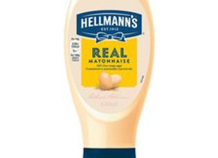 Hellmanns Squeeze Mayonnaise 430 Ml