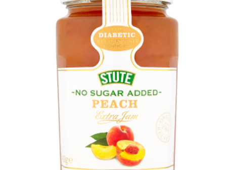Stute No Added Sugar Peach Jam 430 g