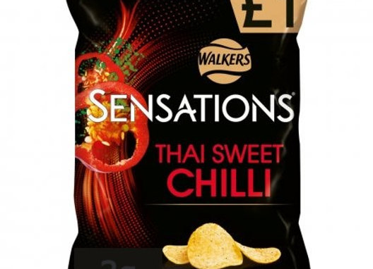 Walkers Sensations Thai Sweet Chilli 65g