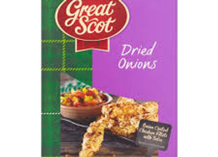 Great Scott Dried Sliced Onions 40g