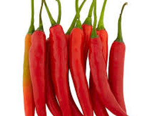 Red chillies 100 gr