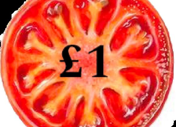 £1 Toward Food Box Donation