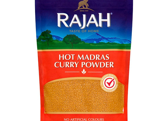 Rajah Hot Madras Curry Powder 100g