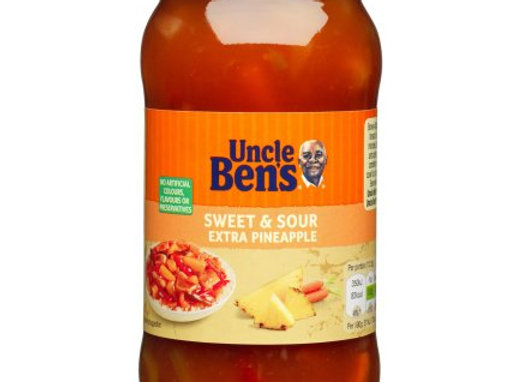 Uncle Bens Sweet & Sour Extra Pineapple