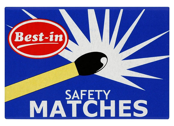 Best-in  Safety Matches 4 Pack