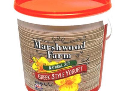 Marshwood Farm Greek Style  Yogurt 5Kg