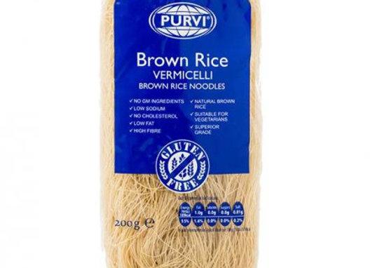 Purvi Brown Rice Vermicelli Noodles 200g