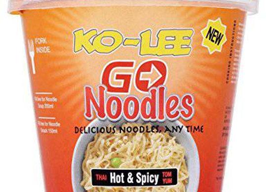 Ko-Lee Go Cup Noodles Hot & Spicy 65g