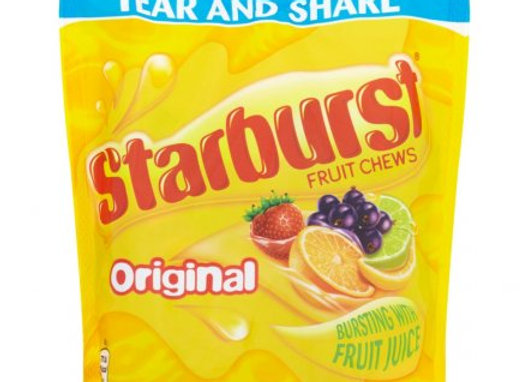 Starburst Original Fruity Chew Bags 141g