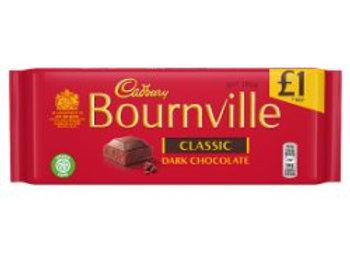 Cadbury Bournville Classic Dark Chocolate Bar 100g