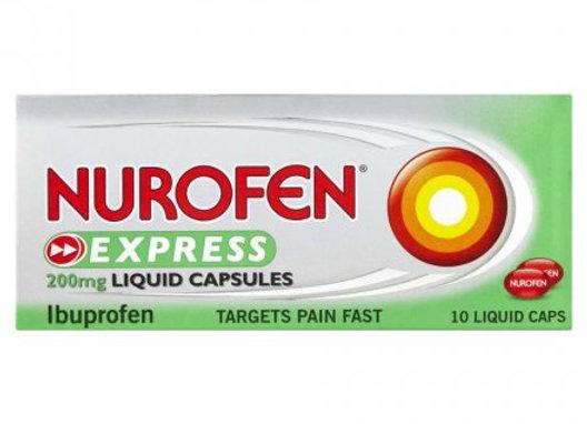 Nurofen Express Relief Capsules 10's