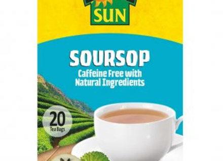 Tropical Sun Soursop Tea 20s