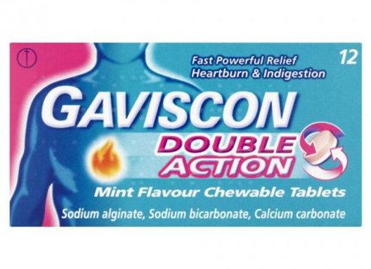 Gaviscon Double Action Tablets 12x12s