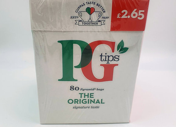 Pg Tips Tea bags 80's