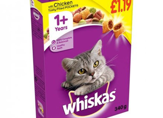 Whiskas 1+Cat Complete Dry With Chicken