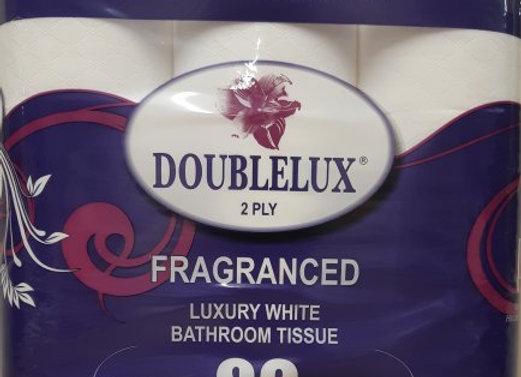 Doublelux Toilet Tissue 2 Ply 9's