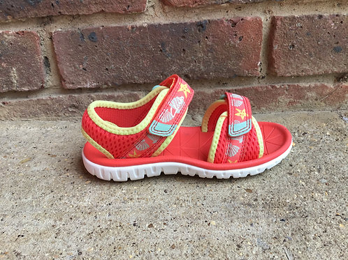 Clarks Surfing Tide Coral  F Fit