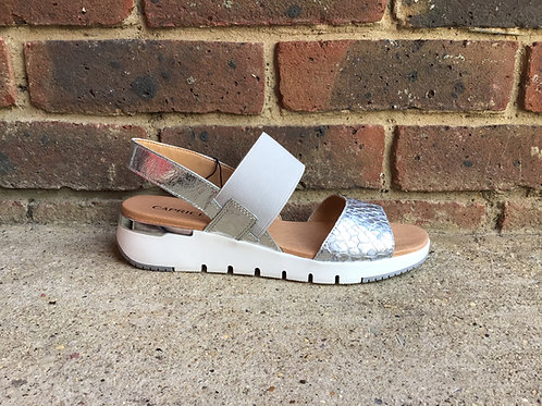 Caprice Silver Sandal