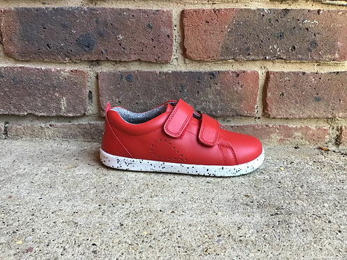 Bobux KP Grass Court Red Trainer Style