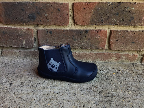 Startrite First Chelsea Boot  Navy LeatherBear