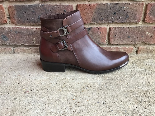 Caprice Chocolate Brown Boot