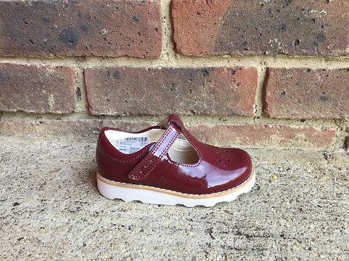 Clarks Crown Wish T Merlot Shoe