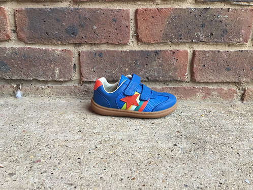 Clarks Flash Hot Toddler Blue Leather