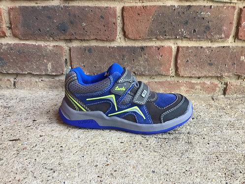 Lurchi Matthias Tex Grey Cobalt Shoe