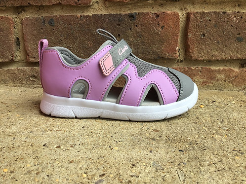 Clarks Ath Surf Lilac  F Fit