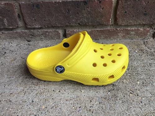 Crocs classic lemon clog