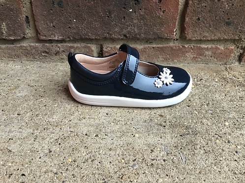 Startrite Fairytale Navy Patent F Fit