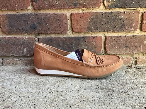 Caprice Brown  Suede Shoe