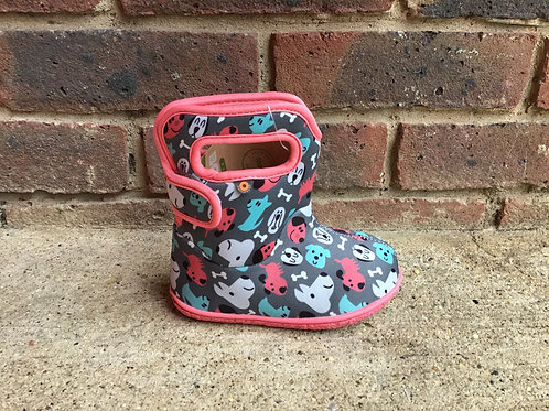 Baby Bogs Puppy Dogs Dark Grey Multi
