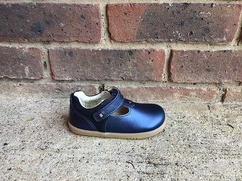 Bobux IW Louise Navy T Bar Shoe