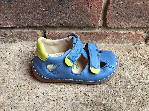 Froddo G2150128-1Closed Toe Sandal in Jeans