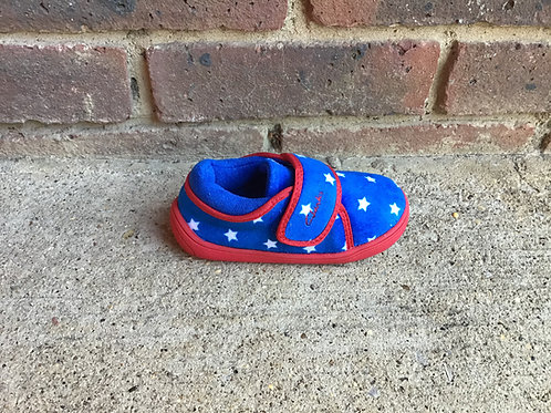 Clarks Holmly Rest Blue Slippers