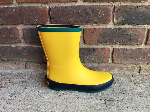 Clarks Mudder Run Yellow Welly