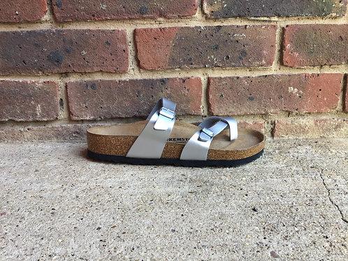 Birkenstock Mayari Birko-Flor Silver Sandal