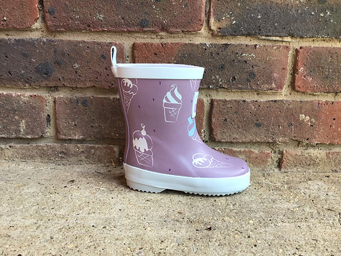 Grass & Air Little Kids Ultra Violet Colour-Revealing Wellies