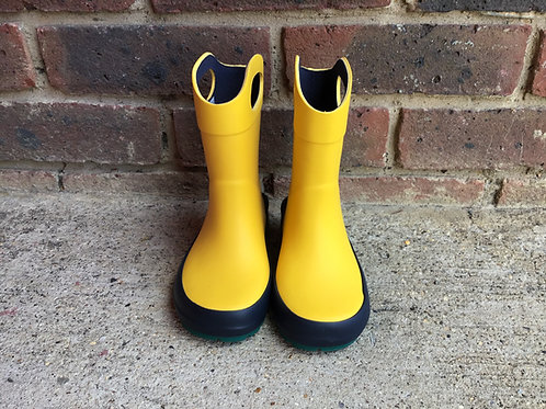 Clarks Mudder Dash Yellow wellies