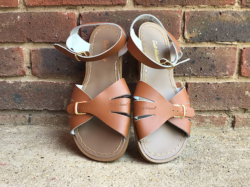 Saltwater Tan Classic Sandals