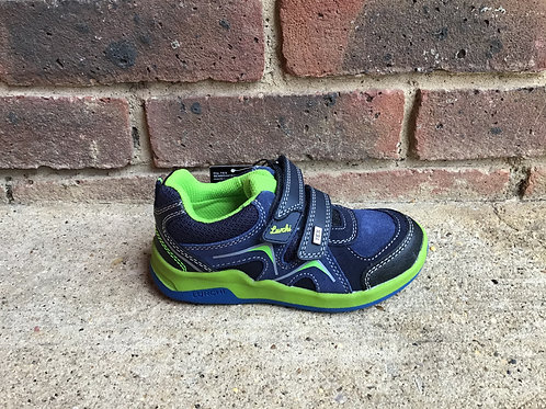 Lurchi Matthias Tex Navy Green Shoe