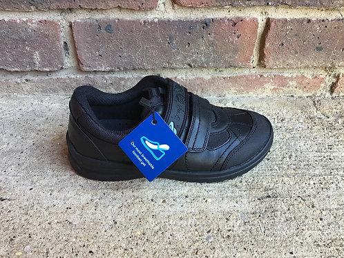 Startrite Rocket Black Leather School Shoe