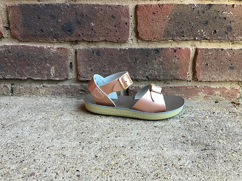 Saltwater Surfer Rose Gold Sandal