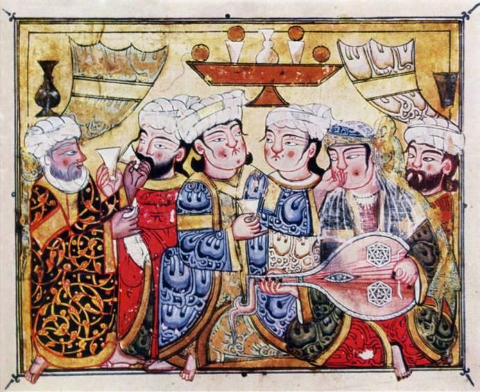 vino-y-musica-miniatura-de-maqamat-of-al-hariri-cairo-1334