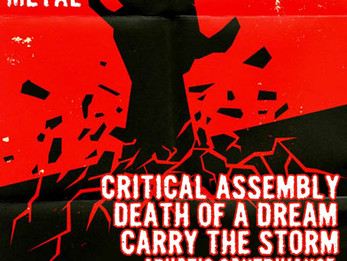 Critical Assembly / Death Of A Dream / Carry The Storm @ Grand Stafford Theater, Bryan, TX - 6/22