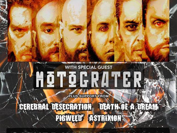 American Head Charge / Motograter @Dirty Dog - 6/4